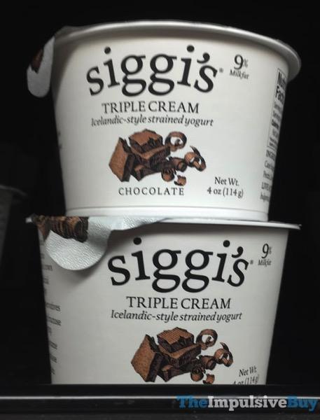 Siggi s Triple Cream Chocolate Yogurt