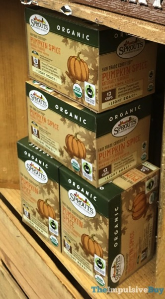 Sprouts Pumpkin Spice K Cups  2017