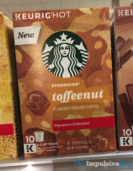 Starbucks Signature Collection Toffeenut K Cups