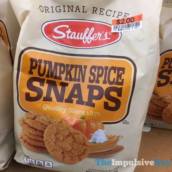 Stauffer s Pumpkin Spice Snaps  2017