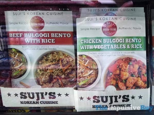 Suji s Korean Cuisine Beef Bulgogi Bento with Rice and Chicken Bulgogi Bento with Vegetables  Rice