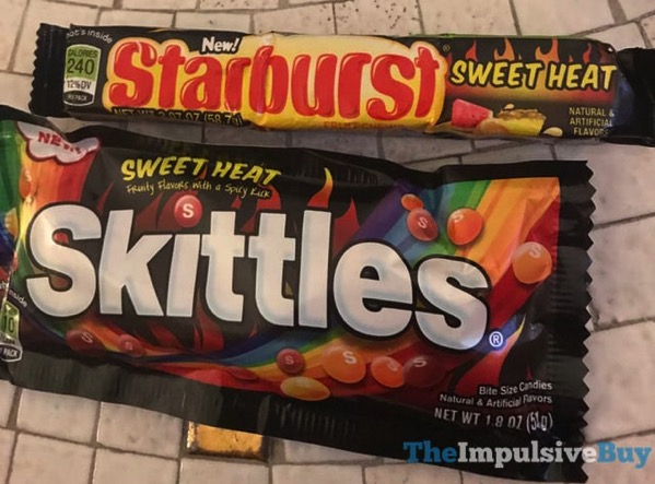 Sweet Heat Starburst and Skittles