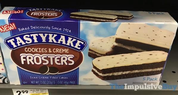 Tastykake Cookie  Creme Frosters