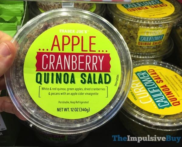 Trader Joe s Apple Cranberry Quinoa Salad