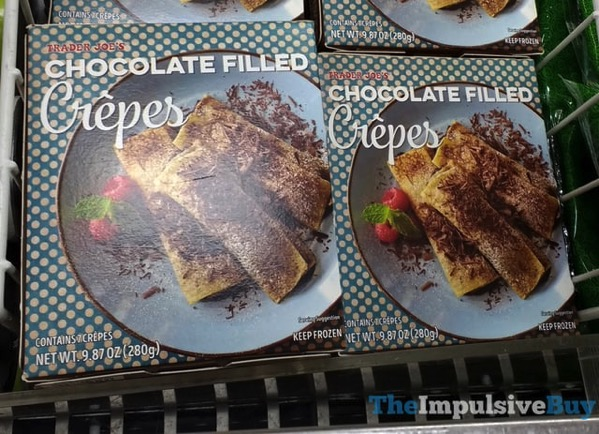 Trader Joe s Chocolate Filled Crepes
