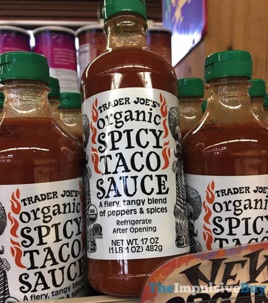 Trader Joe s Organic Spicy Taco Sauce