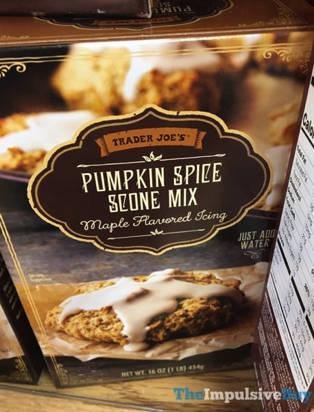 Trader Joe s Pumpkin Spice Scone Mix