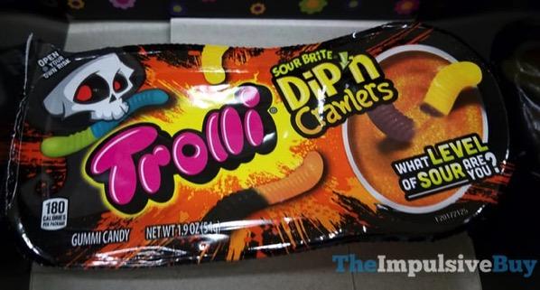 Trolli Sour Brite Halloween Dip n Crawlers