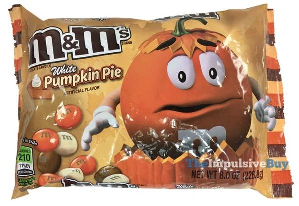 White Pumpkin Pie M M s
