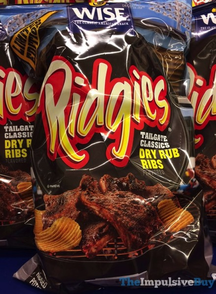 Wise Limited Edition Tailgate Classics Dry Rub Ribs Ridgies