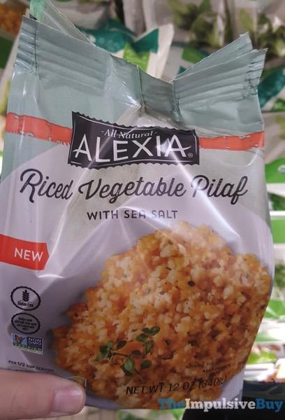 Alexia Riced Vegetable Pilaf with Sea Salt