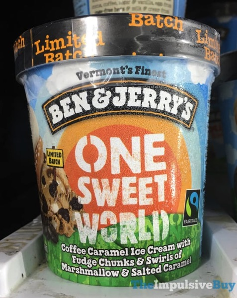 Ben  Jerry s Limited Batch One Sweet World