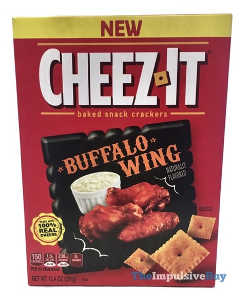 Cheez It Buffalo Wing Crackers