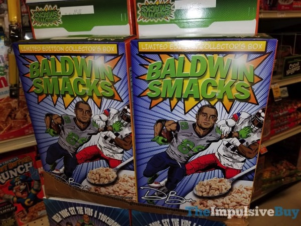 Doug Baldwin Smacks Cereal