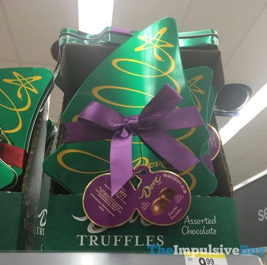 Dove Assorted Chocolate Truffles 2017 Tree Design