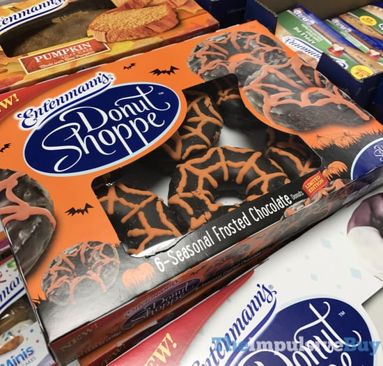 Entenmann s Donut Shoppe Limited Edition Seasonal Frosted Chocolate