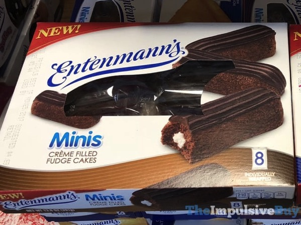 Entenmann s Minis Creme Filled Fudge Cakes
