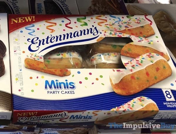 Entenmann s Minis Party Cakes