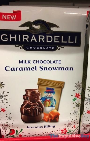 Ghirardelli Milk Chocolate Caramel Snowman