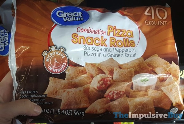 Great Value Combination Pizza Snack Rolls