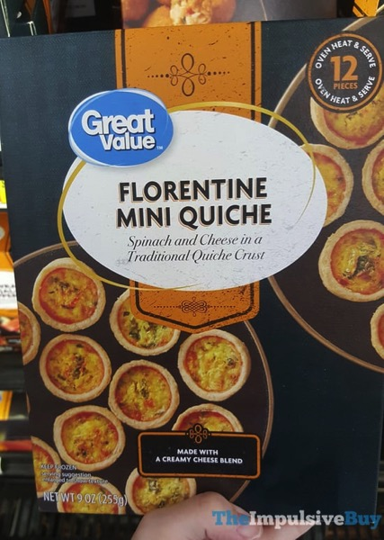 Great Value Florentine Mini Quiche
