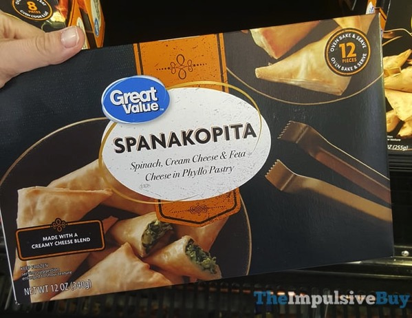 Great Value Spanakopita