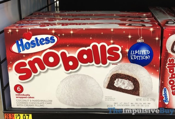 Hostess Limited Edition Snoballs