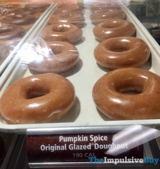 Krispy Kreme Original Glazed Pumpkin Spice Doughnut 2