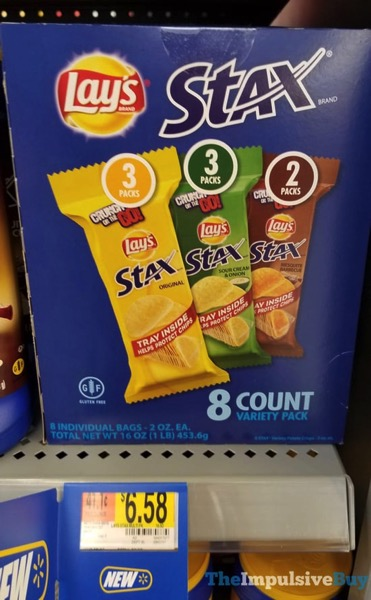 Lay s Stax 8 Count Variety Pack