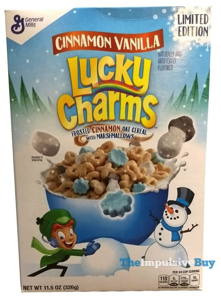 Limited Edition Cinnamon Vanilla Lucky Charms