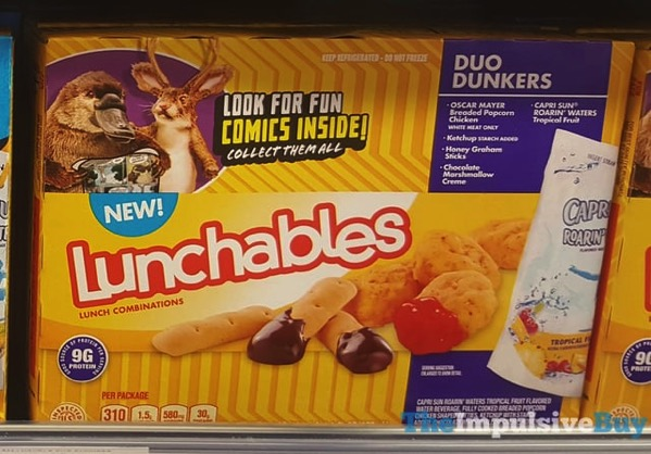 Lunchables Duo Dunkers