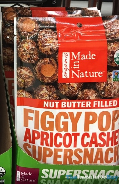 Made in Nature Nut Butter Filled Figgy Pops Apricot Cashew Supersnacks