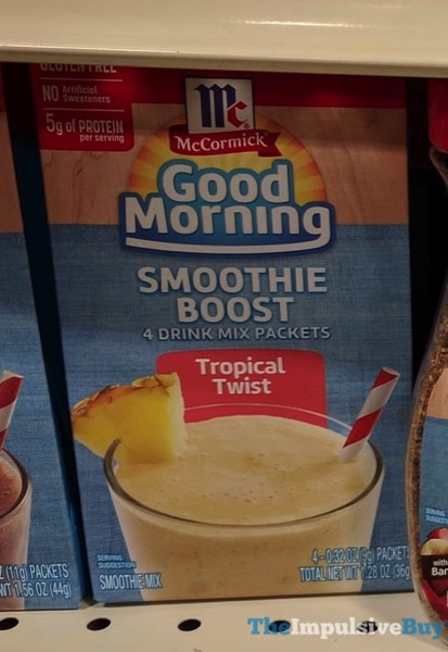 McCormick Smoothie Boost Tropical Twist