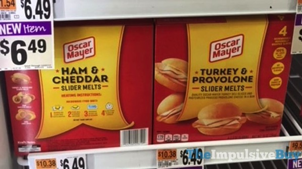 Oscar Mayer Ham  Cheddar and Turkey  Provolone Slider Melts
