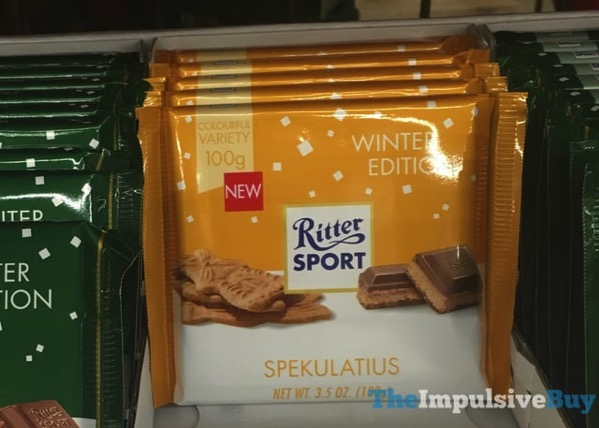 Ritter Sport Winter Edition Speckulatius
