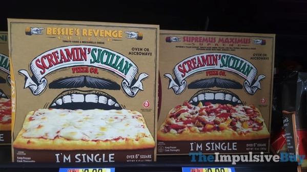 Screamin Sicilian Pizza Co I m Single Pizza  Bessie s Revenge and Supremus Maximus