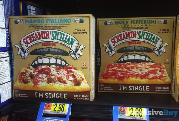 Screamin Sicilian Pizza Co I m Single Pizza  Manbo Italiano and Holy Pepperoni