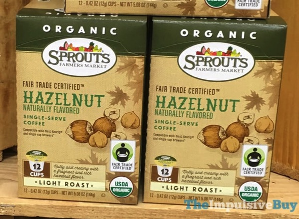 Sprouts Hazelnut Coffee K Cups