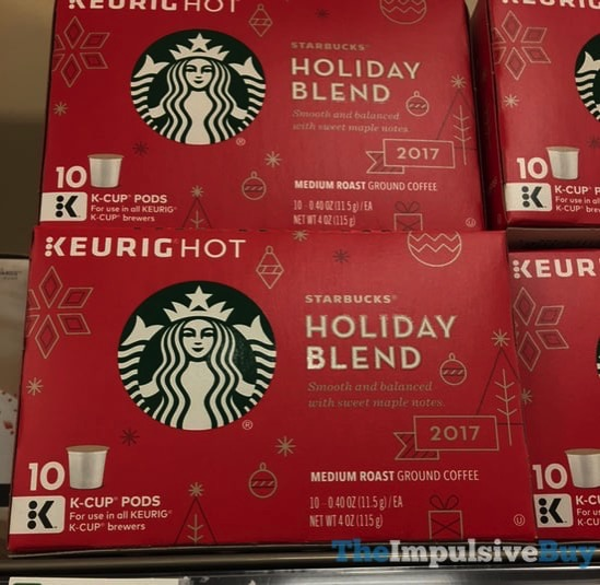 Starbucks Holiday Blend 2017 K Cups
