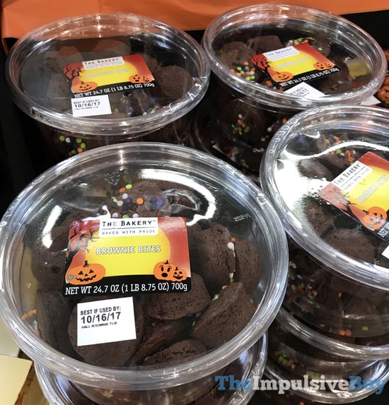 The Bakery Halloween Brownie Bites