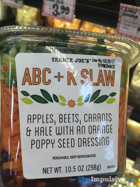 Trader Joe s ABC + K Slaw