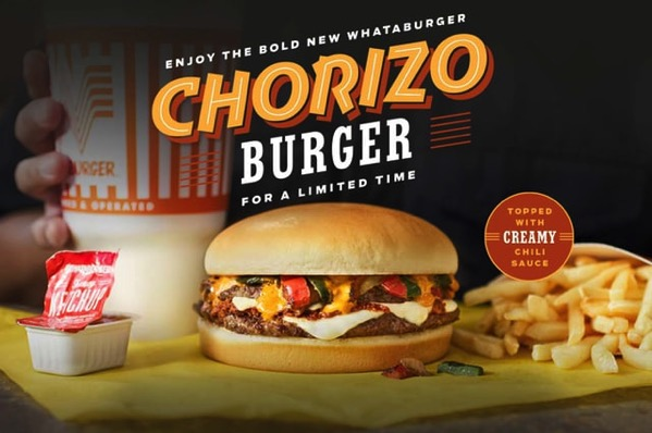 Whataburger Chorizo Burger