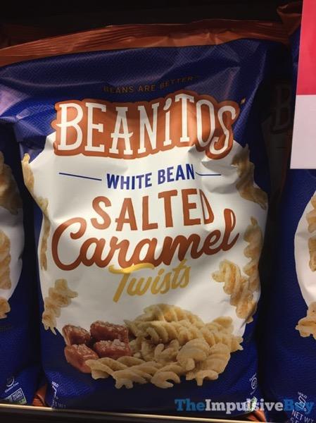 Beanitos White Bean Salted Caramel Twists