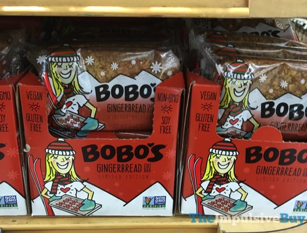 Bobo s Limited Edition Gingerbread Oat Bar