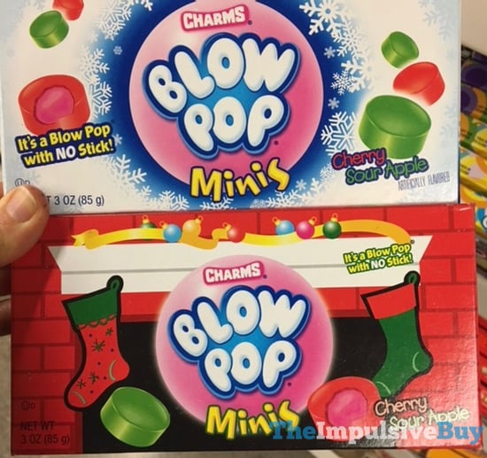 Charms Blow Pop Minis 2017 Holiday Designs