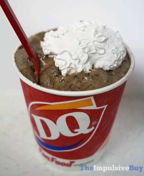 Dairy Queen Oreo Hot Cocoa Blizzard