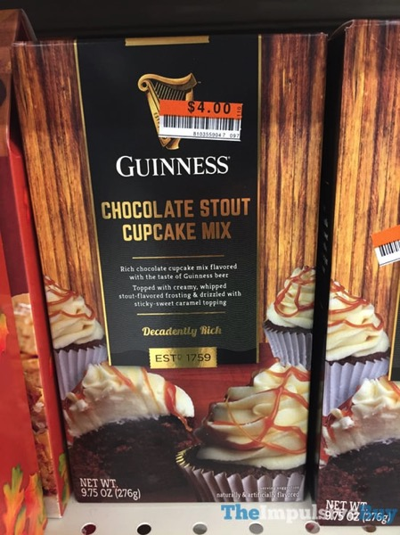 Guinness Chocolate Stout Cupcake Mix
