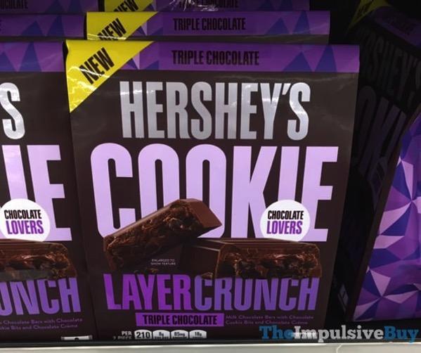 Hershey s Triple Chocolate Cookie Layer Crunch Bars