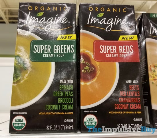 Imagine Super Greens and Super Reds Creamy Soup