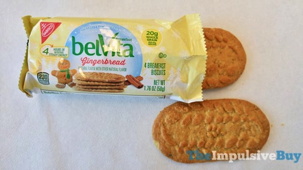Limited Edition Gingerbread belVita Breakfast Biscuits 3
